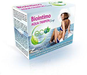 BioIntimo AQUA-TAMPON miesiączkowego kielich rozm. 2 BioIntimo Corporation