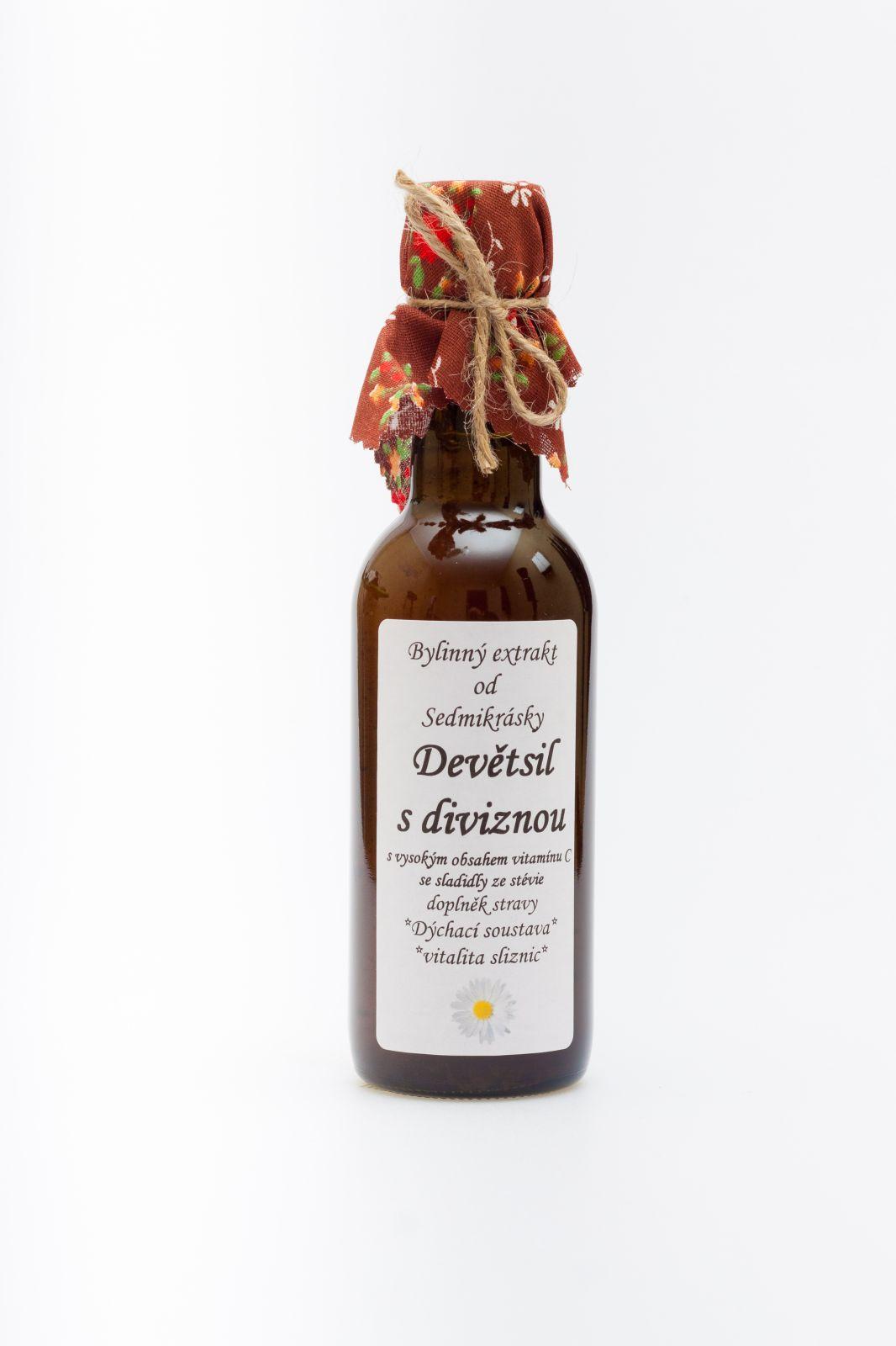 Sedmikráska bylinný extrakt Divizna 250ml Rodinná farma Sedmikráska
