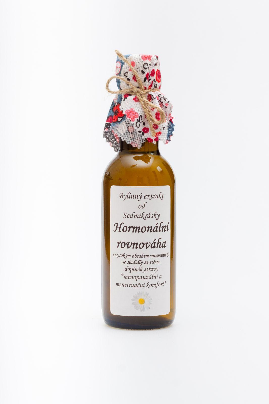Sedmikráska bylinný extrakt HORMONÁLNÍ ROVNOVÁHA 250 ml - *menopauzální a menstruační komfort* Rodinná farma Sedmikráska