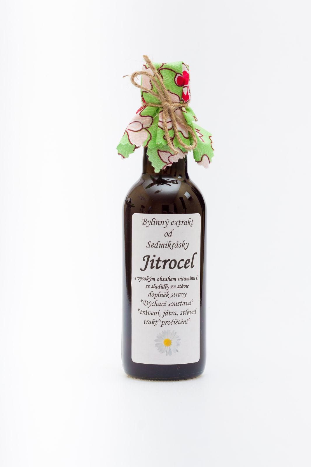 Sedmikráska ekstrakt ziołowy Babka lancetowata 250ml układ oddechowy, przeciwutleniacz, trawienie, wątroba, przewód pokarmowy, oczyszczanie Rodinná farma Sedmikráska