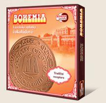 Spa wafle BOHEMIA czekoladowe są wykonane według tradycyjnej receptury Bohemia speciality s.r.o.
