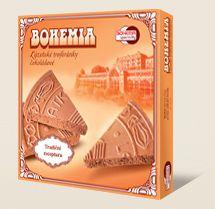 Bohemia Spa wafle trójkąty czekoladowe są wykonane według tradycyjnej receptury Bohemia speciality s.r.o.