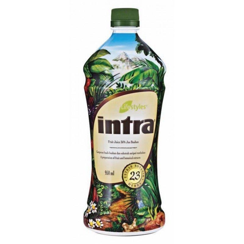 Intra 950 ml - harmonizacjy tonik ziołowy Lifestyles