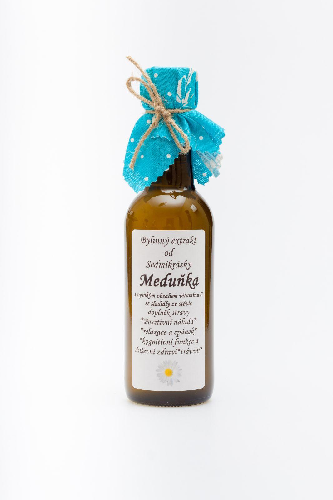 Sedmikráska ekstrakt ziołow Melisa 250ml pozytywny nastrój, relaks i sen, funkcja poznawcza i zdrowie psychiczne, trawienie Rodinná farma Sedmikráska