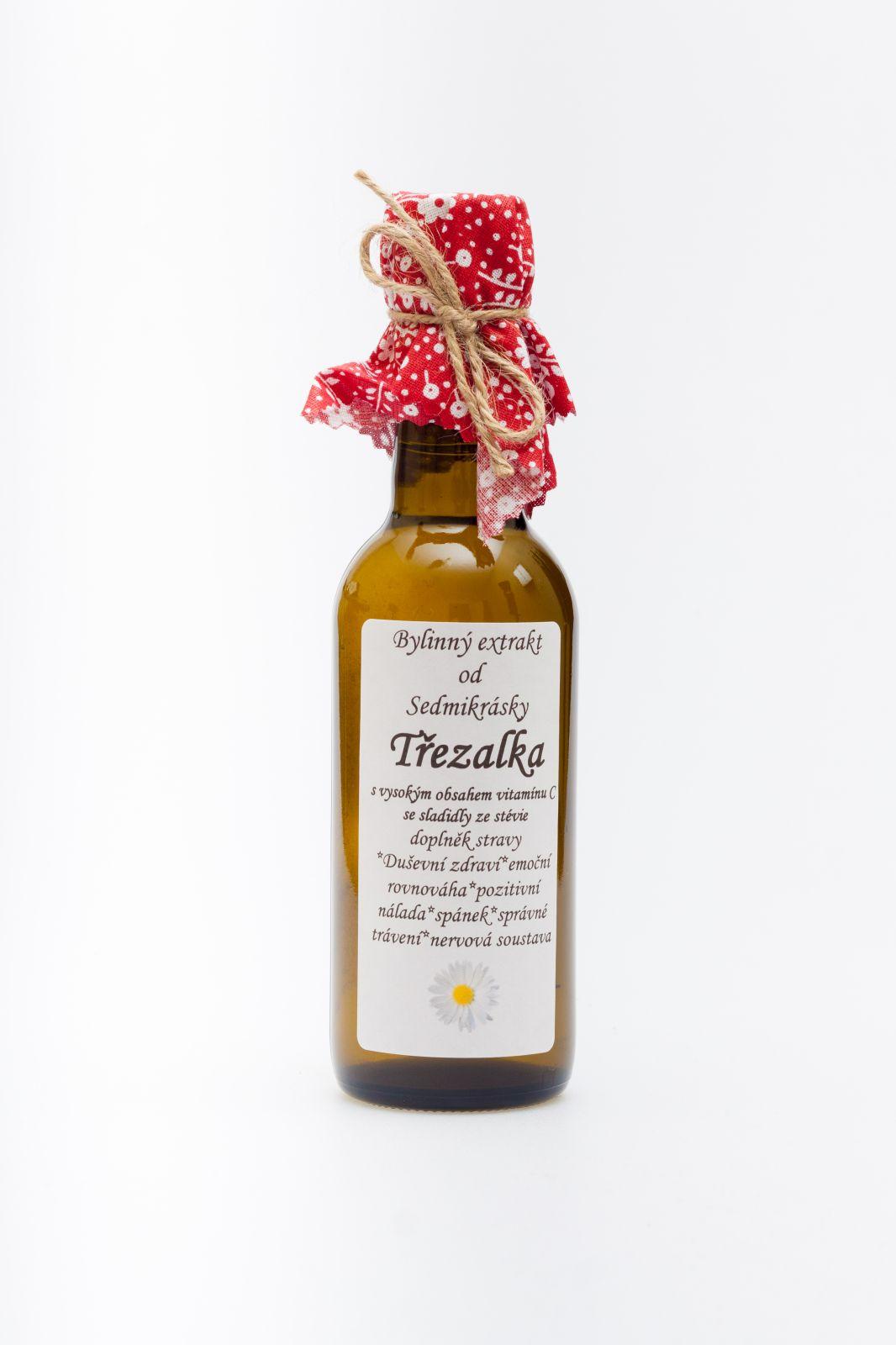 Sedmikráska ekstrakt ziołowy Dziurawec zwyczajny 250ml zdrowie psychiczne, równowaga emocjonalna, pozytywny nastrój, sen, prawidłowe trawienie, układ nerwowy Rodinná farma Sedmikráska