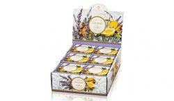 Zestaw tłoczonych mydeł w eleganckim, ozdobnym pudełku Saponificio Artigianale Fiorentino