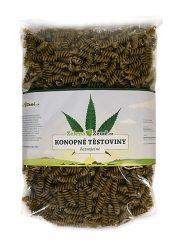 Zelená země Konopné těstoviny - fusilli. Bezvaječné těstoviny. 400 g Zelená Země s.r.o.