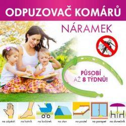Dedra INSECTOFF Bransoletka odstraszająca komary i kleszcze Vaše Dedra, s.r.o.