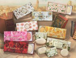 Zestaw tłoczonych mydeł Saponificio Artigianale Fiorentino