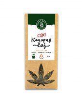 Herbata konopna z zawartością CBG 1,8% Zelená Země s.r.o.