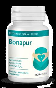 BONAPUR kapsułki 62szt dla wewnętrznego oczyszczenia organizmu, optymalizacjy homocysteiny NUTRA-BONA