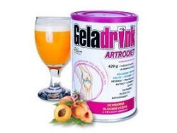 GELADRINK ARTRODIET - broskev, nápoj - 420g