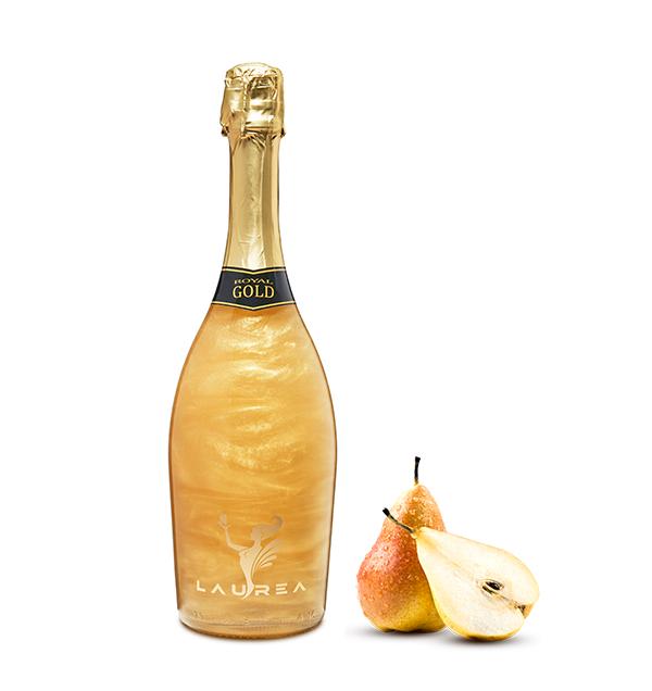 Royal Gold gruszka Magic Royal Wine 0,75lt magiczne wino perłowe z bąbelkami hruška Laurea Company sro