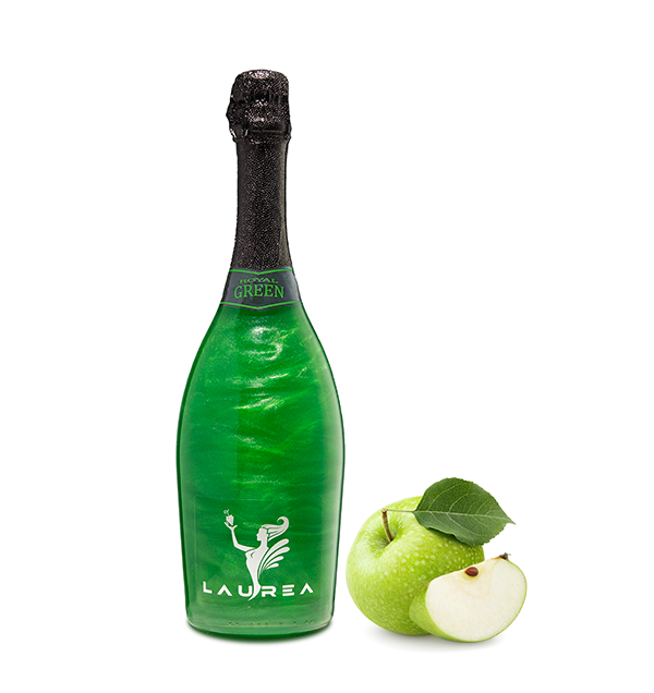 Royal Green jabłko Magic Royal Wine 0,75lt magiczne wino perłowe z bąbelkami Laurea Company sro