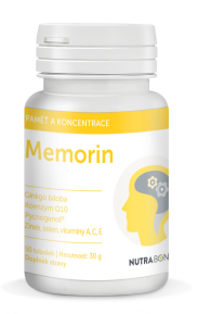 MEMORIN forte kapsułki 50szt - super antyoksydant z wybranymi bioflawonoidami NUTRA-BONA