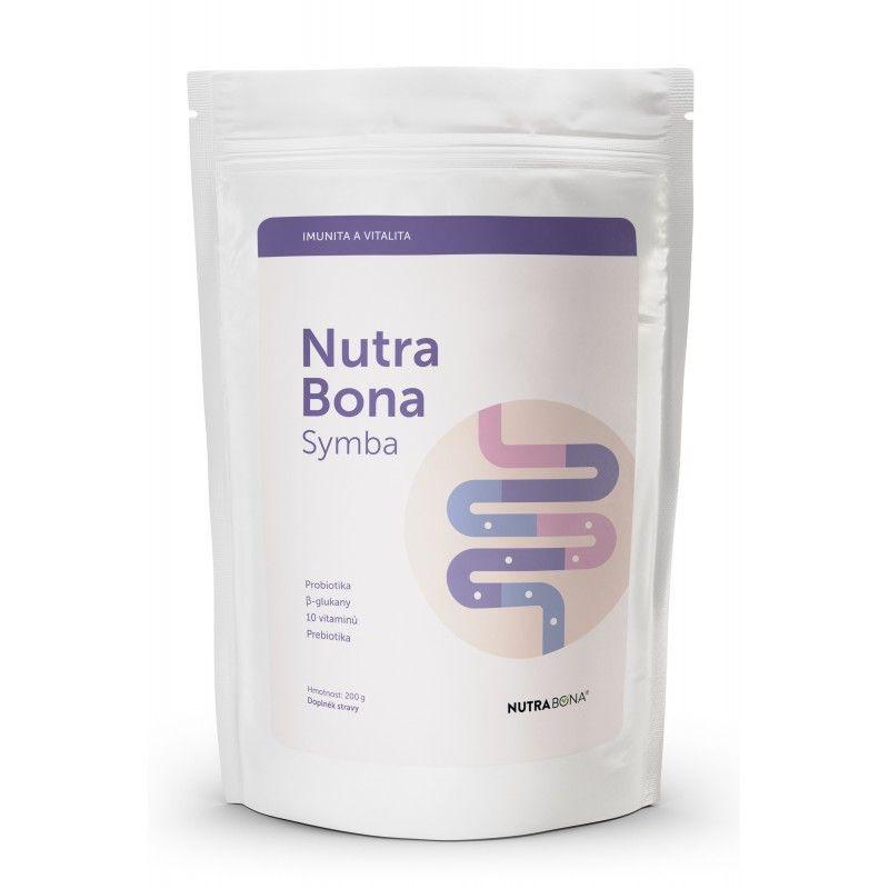Doplněk stravy NUTRA BONA symba s β-glukany 200gr NUTRA-BONA