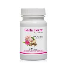Garlic Forte kapsułki 30 x 890 mg Blue Nature
