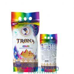Proszek do prania Trona Color 0,5kg - uniwersalny bezfosforanowy proszek do prania do kolorowych tkanin. Polymer Ukrajina