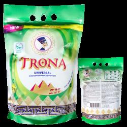 Proszek do prania Trona Universal 2,0kg - bezfosforanowy proszek do prania białych i kolorowych tkanin Polymer Ukrajina