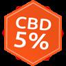 Green Earth CBD 5% + CBG 2% olej konopny 10ml - Wyjątkowy suplement diety. Wspomaga układ odporności Zelená Země s.r.o.
