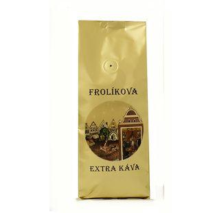 Frolík's Extra Coffee 500g mielona - 100% Arabika z Ameryki Środkowej i Azji Jan Frolík - Pražírna kávy