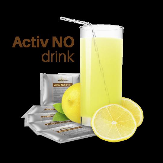 Activ NO drink 1 bag - Naukowe odkrycie stulecia. Wpływ cudownej cząsteczki NO - tlenku azotu na nasze zdrowie. Activstar