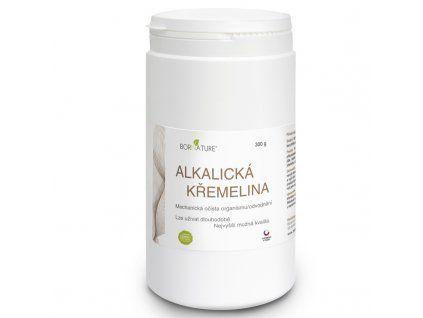 Bornature Ziemia okrzemkowa alkaliczna 500 g mechaniczna detoksykacja przewodu pokarmowego oraz odwodnienie i suplementacja krzemu - świetna dla osób ze słabym lub zatkanym układem naczyniowym