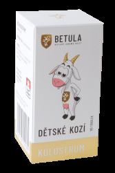 KOSZARKA DZIECIĘCA Betula to taki sam skład i jakość siary jak siara kozia. Główną różnicą jest rozmiar kapsułek. 120 tob