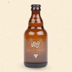 Smak Moraw - Moszcz gronowy odmiany Müller Thurgause uzyskiwany jest poprzez prasowanie mechaniczne i po rozlaniu do butelek jest delikatnie pasteryzowany. 330 ml