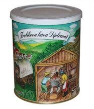 Kawa Frolík's Diplomat 250g mielona To 100% Arabika z Ameryki Środkowej, Południowej i Azji. Jan Frolík - Pražírna kávy