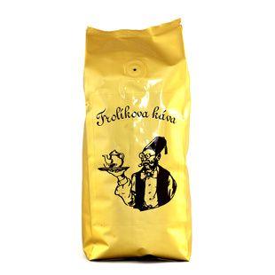 Kawa Frolík's Diplomat 250g ziarno To 100% Arabika z Ameryki Środkowej, Południowej i Azji. Jan Frolík - Pražírna kávy