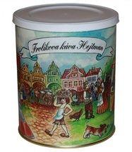 Kawa Frolík's Hejtman 250g mielona - Ekskluzywność tej mieszanki zapewnia stosunek Arabiki do Robusty 60:40 Jan Frolík - Pražírna kávy