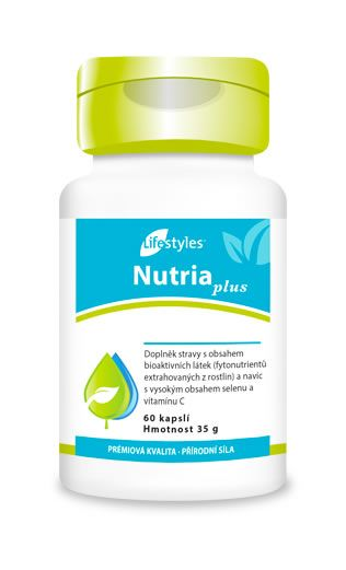 NutriaPlus to suplement zawierający koncentraty owocowo-warzywne, ekstrakty roślinne, witaminę C i selen, który pomaga chronić komórki przed stresem oksydacyjnym! Lifestyles